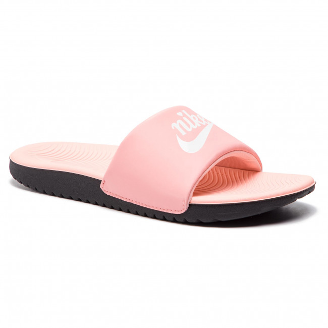 82bd8ca05b88 Slides NIKE - Kawa Slide Vday (GS/PS) BQ7427 600 Bleached Coral/White/Black  - Casual sandals - Sandals - Mules and sandals - Women's shoes -  efootwear.eu