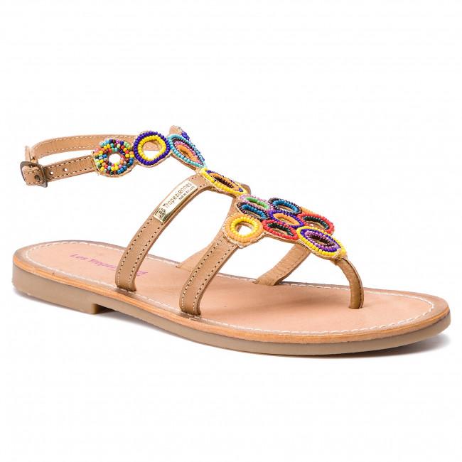 Sandals LES TROPEZIENNES - Ofelie 04218 Beige/Multi