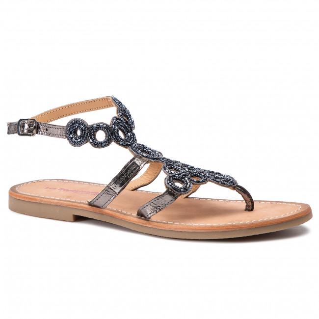 Sandals LES TROPEZIENNES - Ofelie 07168 Pewter
