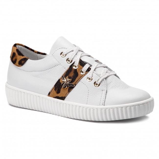 0961 Biały Lico/Pantera - Sneakers