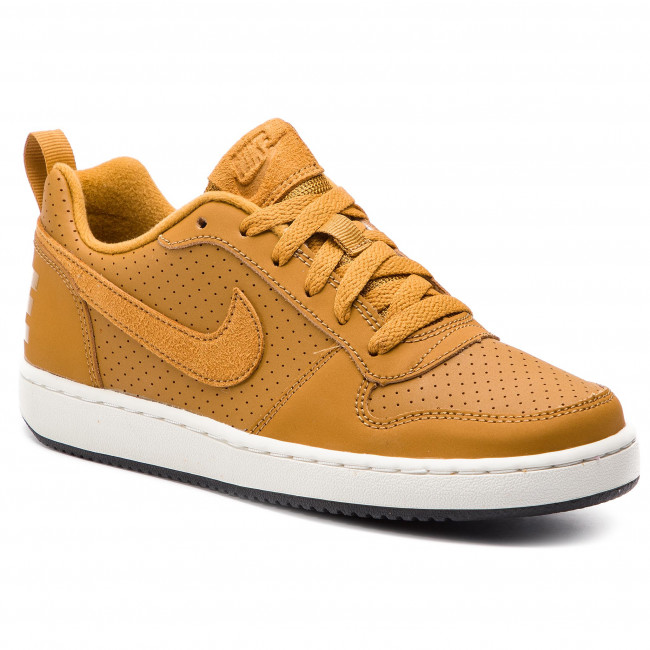comercio pacífico Generalizar  Shoes NIKE - Court Borough Low (GS) 839985 701 Wheat/Wheat/Summit ...