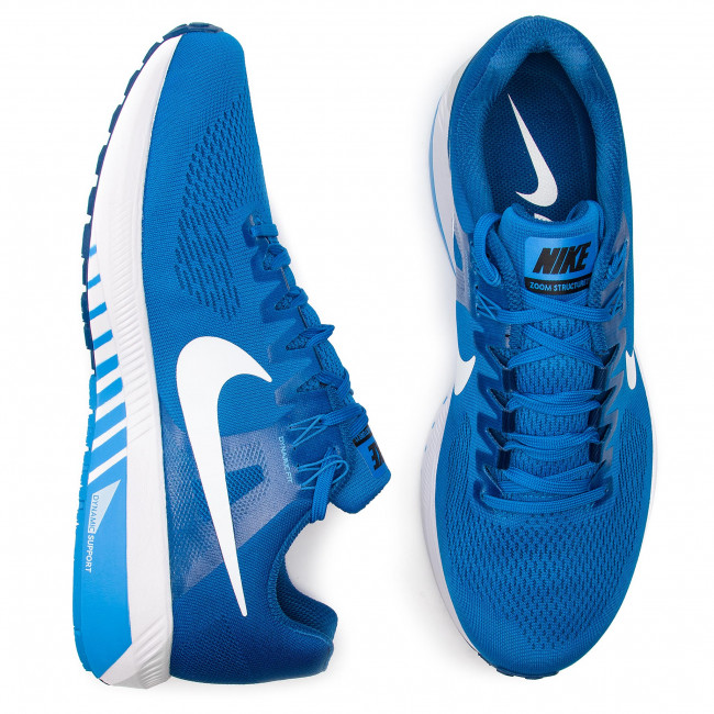 Shoes NIKE - Zoom Structure 21 904695 403 Blue Nebula/White/Gym Blue - Indoor - Running shoes - Sports shoes - Men's shoes