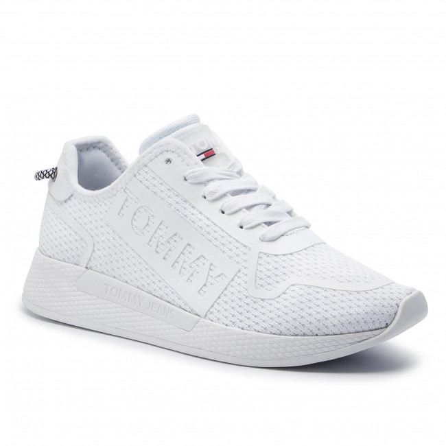 Sneakers TOMMY JEANS Light Sneaker EN0EN00395 White 100
