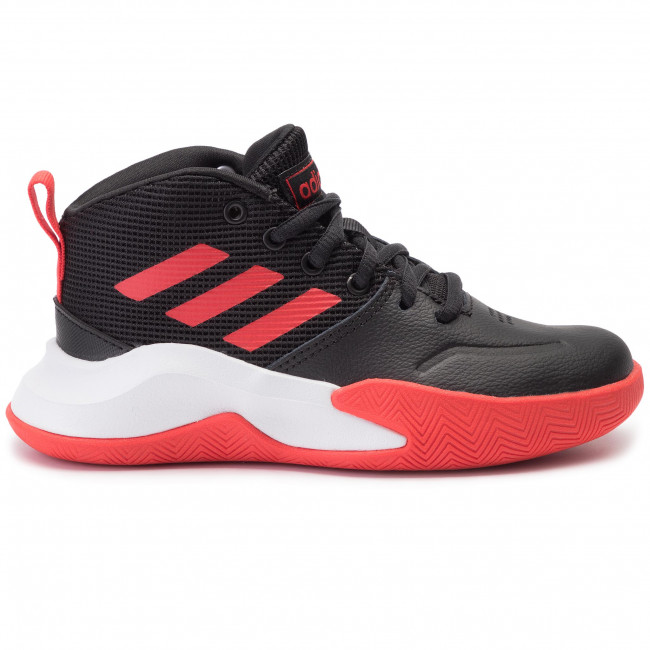 Shoes adidas Ownthegame K Wide EF0309 CblackActredFtwwht