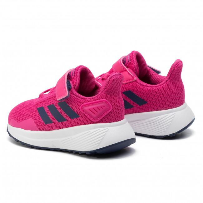 Adidas Infants Girls Shoes Running Kids Duramo 9 Training Trainers F35108 New