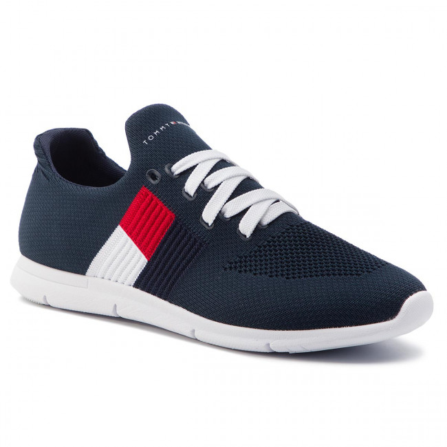 Tommy Hilfiger Damen Knitted Flag Light Sneaker