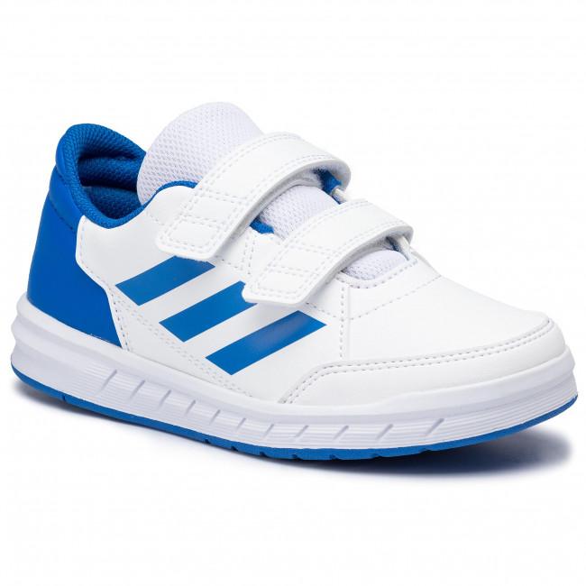Shoes adidas - Altasport Cf K D96827 Ftwwht/Blue/Blue