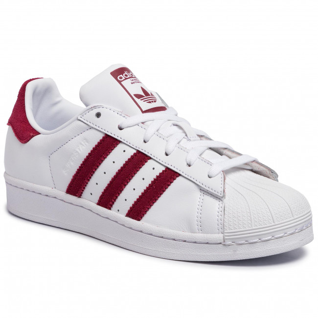 Shoes adidas - Superstar EF9240 Ftwwht/Cburgu/Ftwwht