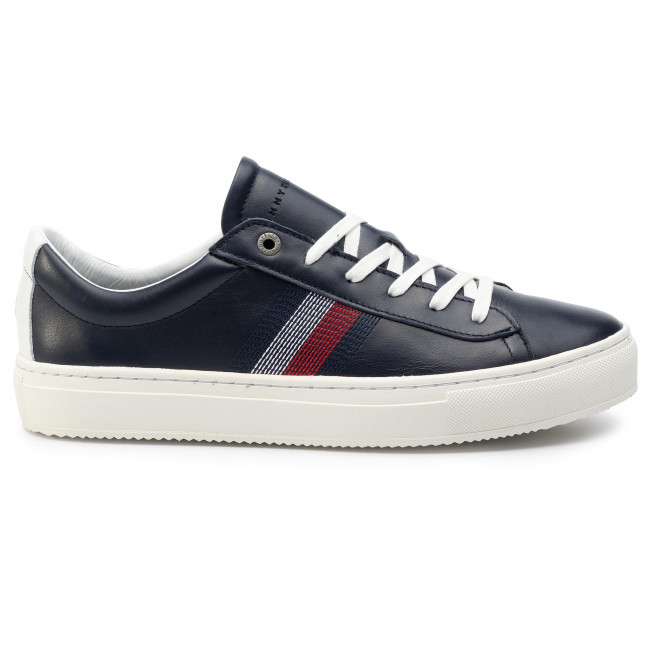 Sneakers TOMMY HILFIGER Clean Premium Corporate Cupsole FM0FM02278 Midnight 403