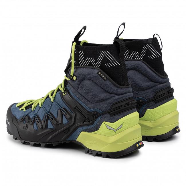 Trekker Boots SALEWA Ms Wildfire Edge Mid Gtx GORE TEX 61350 8971 PoseidonCactus