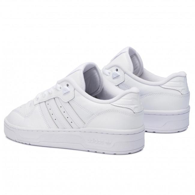 Shop adidas Originals white Rivalry Low EF8729 for Men in