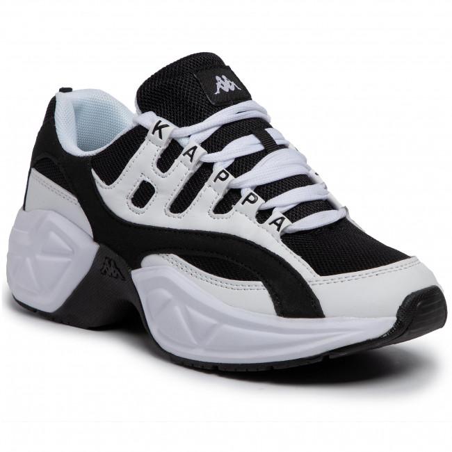 Nowe zdjęcia cała kolekcja dostać nowe Sneakers KAPPA - Overton 242672 White/Black 1011
