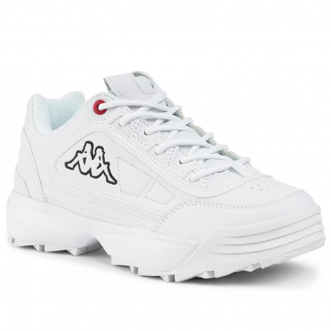 Sneakers KAPPA - Raven Nc 242782 White