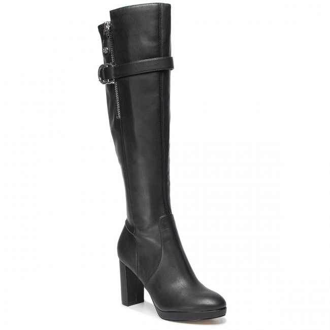 Knee High Boots GUESS - Abalene FL8ABA LEM11 BLACK