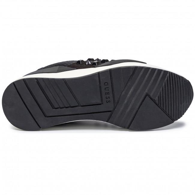 Sneakers Guess - Tinsel Fl8til Ele12 Black Low Shoes Women's