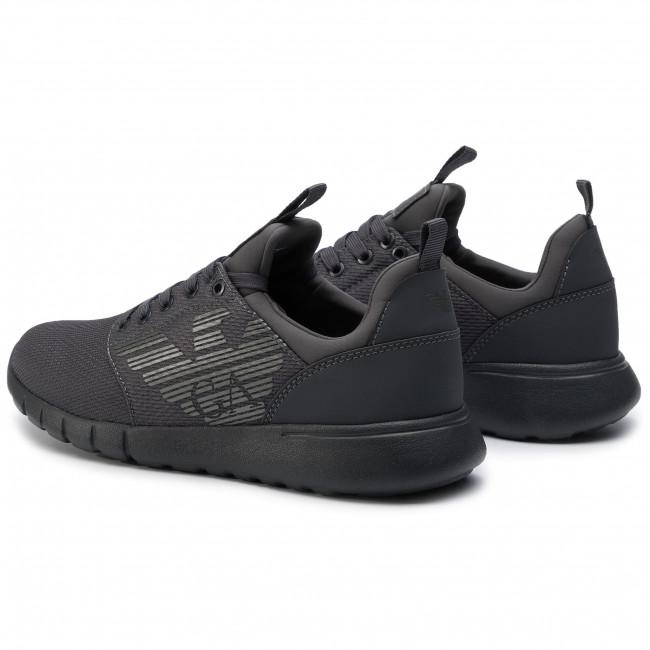 fornire un'ampia selezione di come trovare nuovo massimo Sneakers EA7 EMPORIO ARMANI - X8X007 XCC02 00371 Asphalt ...