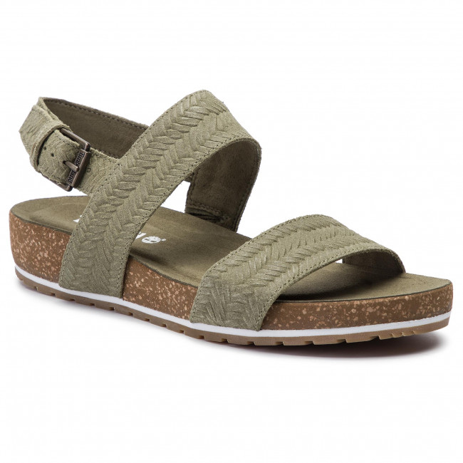 Ventana mundial Sur oeste Publicación  Sandals TIMBERLAND - Malibu Waves 2Band Sandal TB0A1XY2Q69 Olive Embossed  Suede - Casual sandals - Sandals - Mules and sandals - Women's shoes |  efootwear.eu