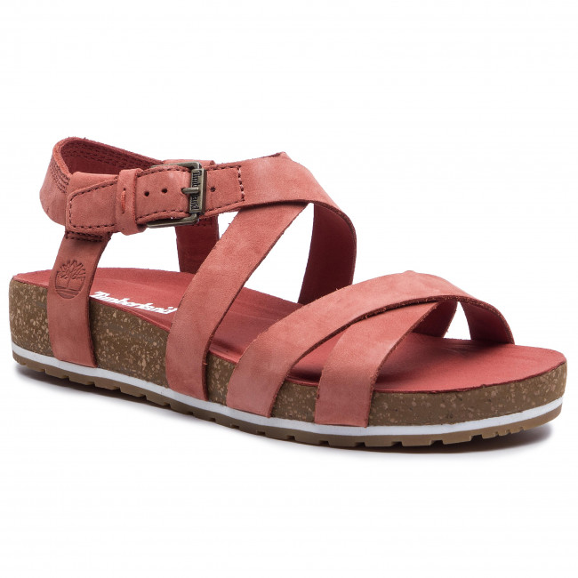 speical offer official shop running shoes Sandals TIMBERLAND - Malibu Waves Ankle TB0A1XX4S43 Rust Nubuck