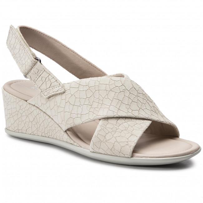 Sandals ECCO Shape 35 Wedge Sandal 25016302281 Vanilla