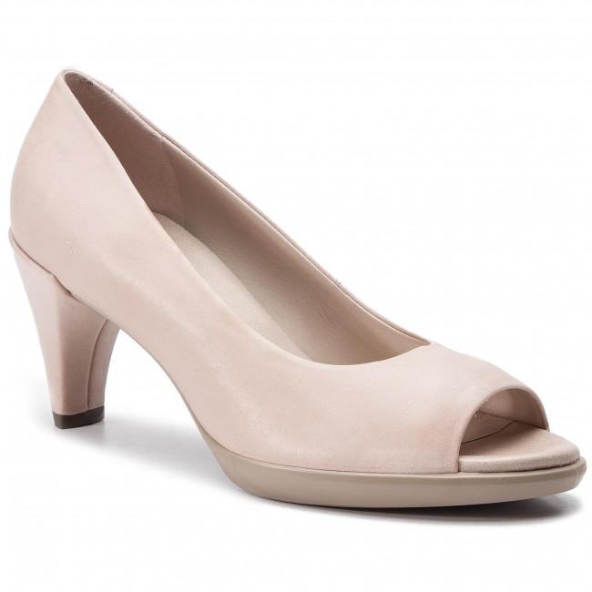 Shoes ECCO Shape 55 Peep Toe Sleek 26830302118 Rose Dust