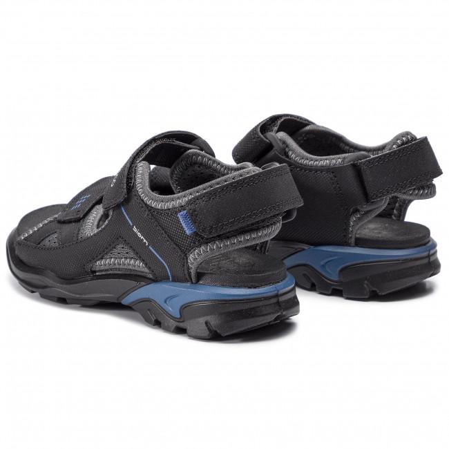 Ecco BIOM Raft Black Dark Shadow Sandal