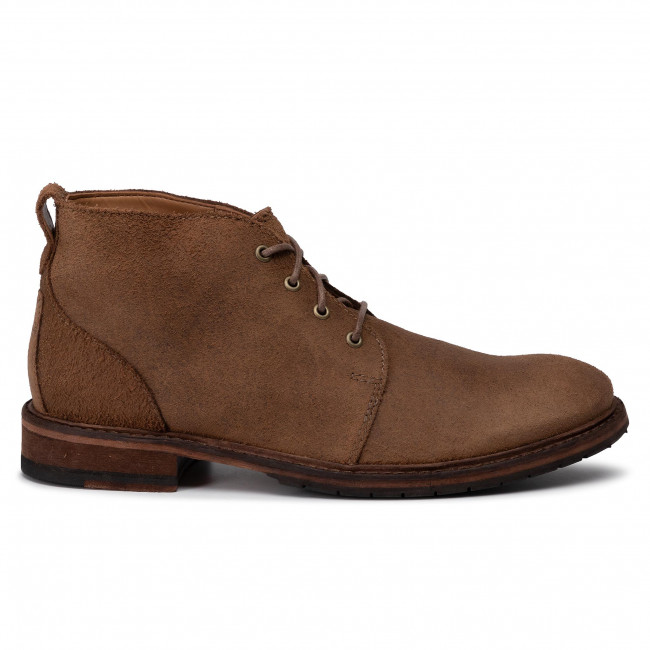 Boots CLARKS Clarkdale Base 261444497 Taupe Suede