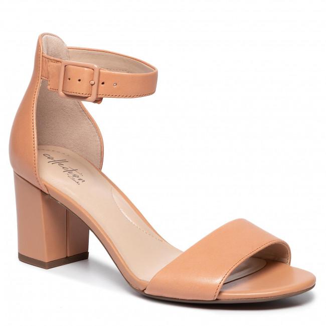 Sandals CLARKS Deva Mae 261451604 Sandstone Lea