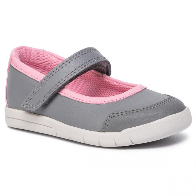 Shoes CLARKS - Emery Halo T 261455726 Grey