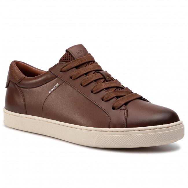 Sneakers COACH - C126 Brn Lo Top Snkr