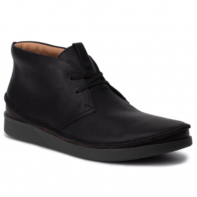 look good shoes sale latest fashion free delivery Boots CLARKS - Oakland Rise 261440687 Black Leather