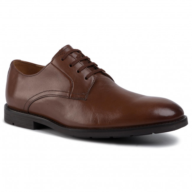 Shoes CLARKS - Ronnie Walk 261437767  British Tan Leather