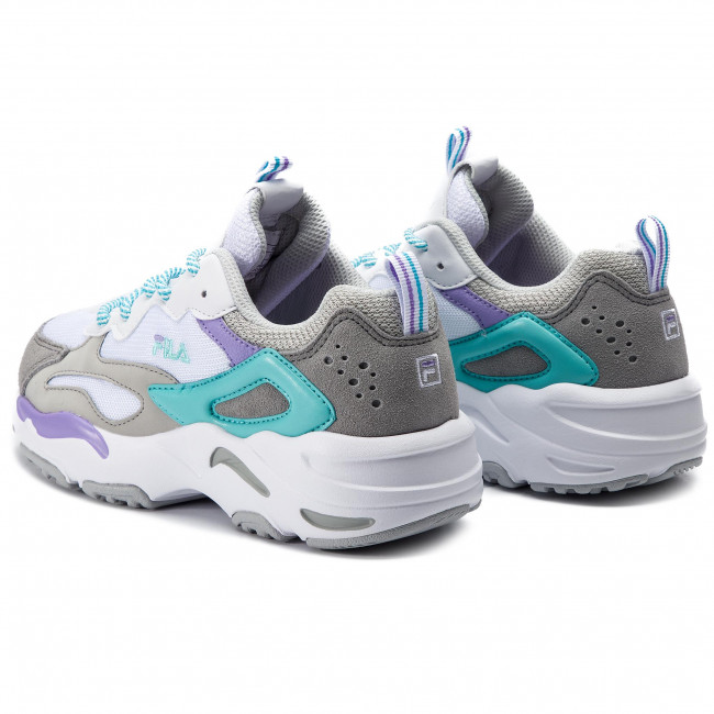 Sneakers FILA - Ray Tracer Wmn 1010686.02D White/Violet Tulip/Blue Curacao