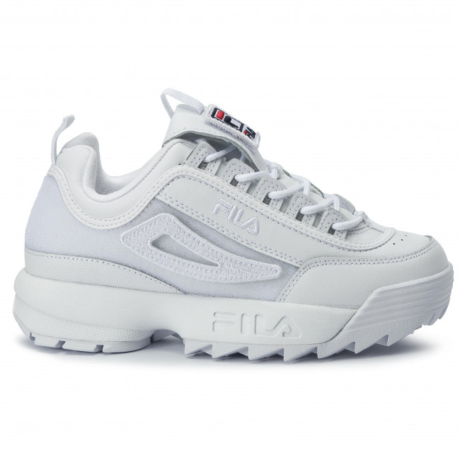 Sneakers FILA Disruptor II Patches Wmn 5FM00538.100 White