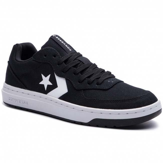 Sneakers CONVERSE Rival Ox 164061C BlackWhiteWhite