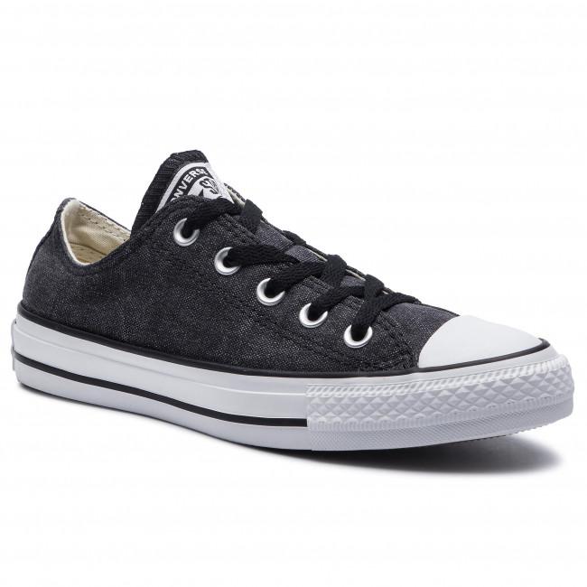 Sneakers CONVERSE Ctas Ox 164287C BlackWhiteBlack