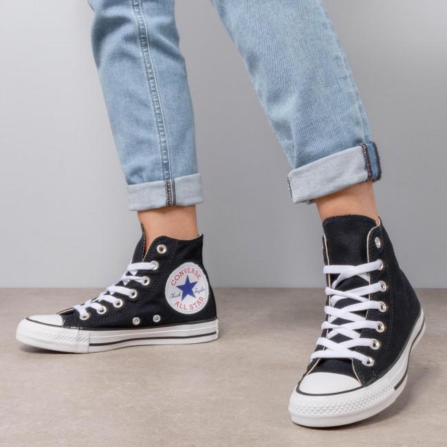 Sneakers Converse - Ctas Hi 165694c Black/white/black Low Shoes Women's