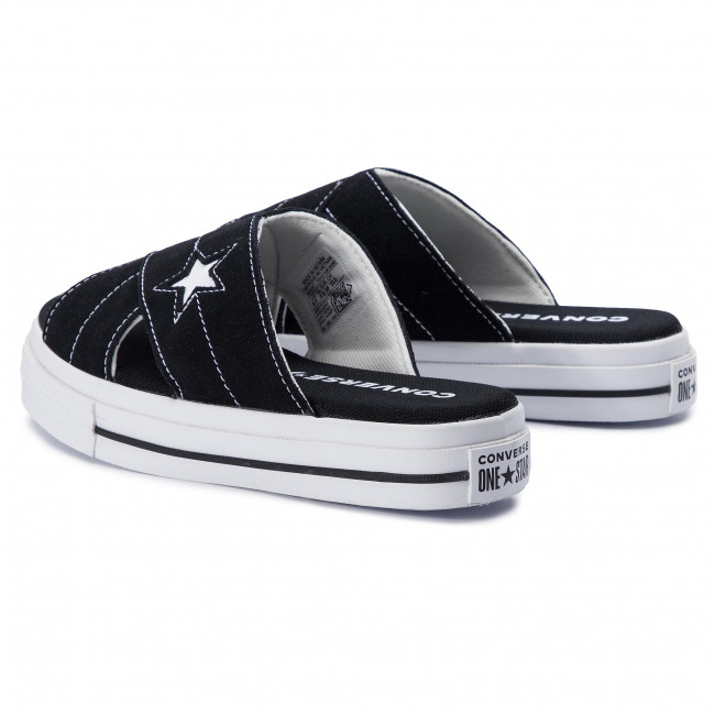 Slides CONVERSE One Star Sandal Slip 564143C BlackEgretWhite