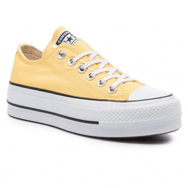 Sneakers CONVERSE - Ctas Lift Ox 564385C Butter Yellow/Black/White