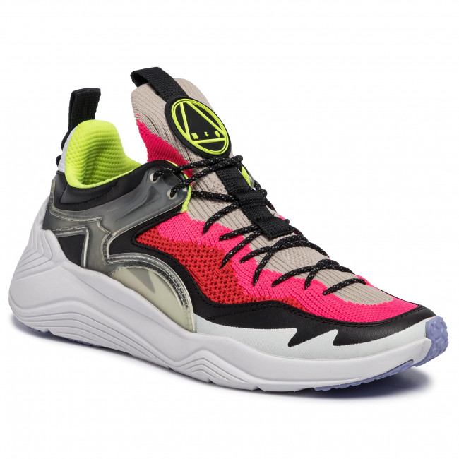 Sneakers MCQ ALEXANDER MCQUEEN Ghishiki 2.0 568412 R2604 9009 Almond Fluro