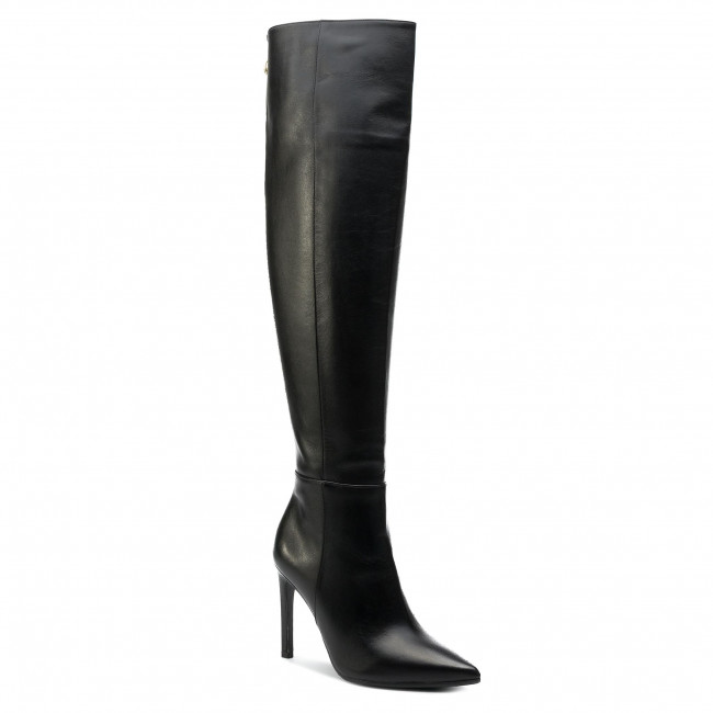 Over-Knee Boots BALDOWSKI - D02743-1451-002  Skóra Czarna