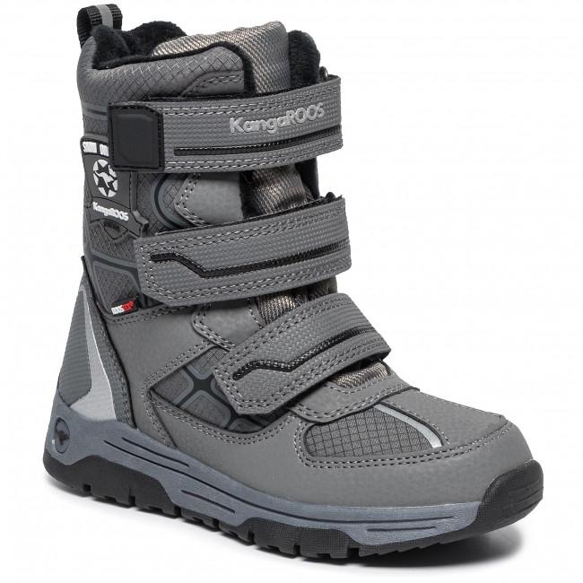 Online-Shop heißer Verkauf online letzter Rabatt Snow Boots KANGAROOS - K-Marshal V Rtx 18377 000 2019 S Steel Grey/Jet Black