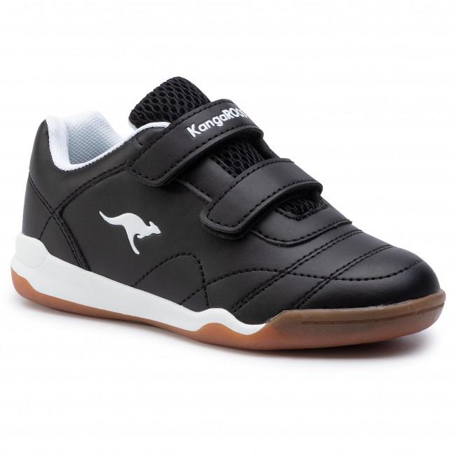 f5d297b6 Sneakers KANGAROOS - Courtyard V 18392 000 5012 Jet Black/White ...
