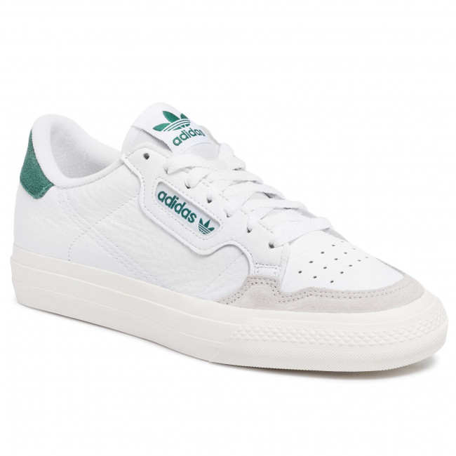 Shoes adidas - Continental Vulc EF3534 Ftwwht/Ftwwht/Cgreen