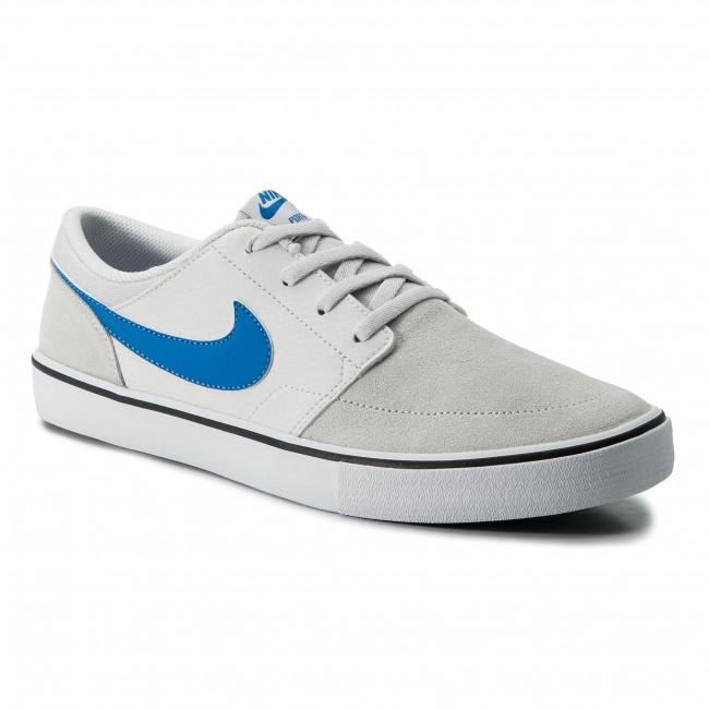 Shoes NIKE - Sb Portmore II Solar 880266 013 Vast Grey/Lt Photo Blue