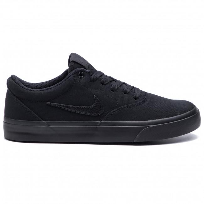 Shoes NIKE - Sb Charge Slr CD6279 001 Black/Black/Black
