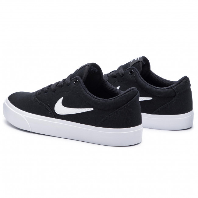 Shoes NIKE - Sb Charge Slr CD6279 002 Black/White