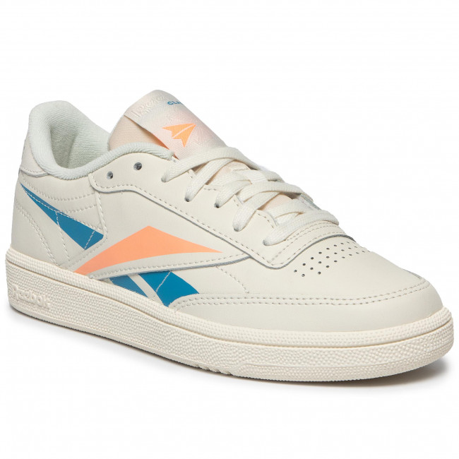 Shoes Reebok Club C 85 DV7247 ChalkCyanSunglo Sneakers