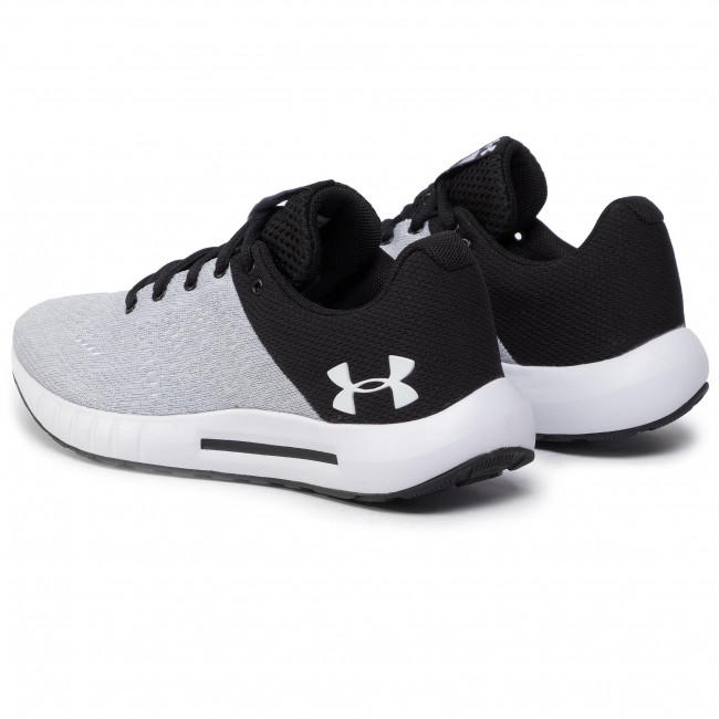 Shoes Under Armour - Ua W Micro G Pursuit 3000101-103 Wht Indoor Running Sports Women's