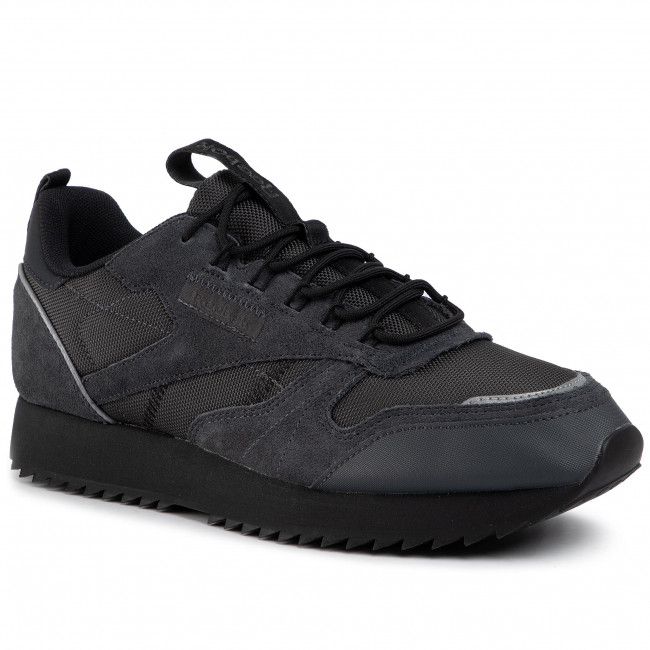 Shoes Reebok Cl Leather Ripple Trail EG8708 Trgry8BlackPantom