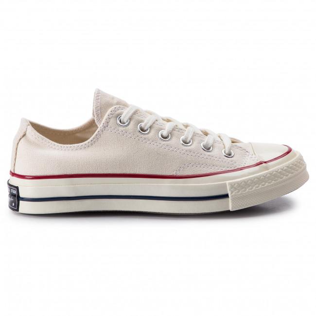 162065C] Converse Chuck Taylor All Star 70 Hi (White, Garnet
